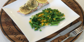 Healthy and simple student dinner